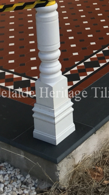 Octagons and Dots with Buckingham Border