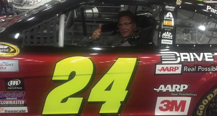 JOHN HAWKINS - RACE CAR