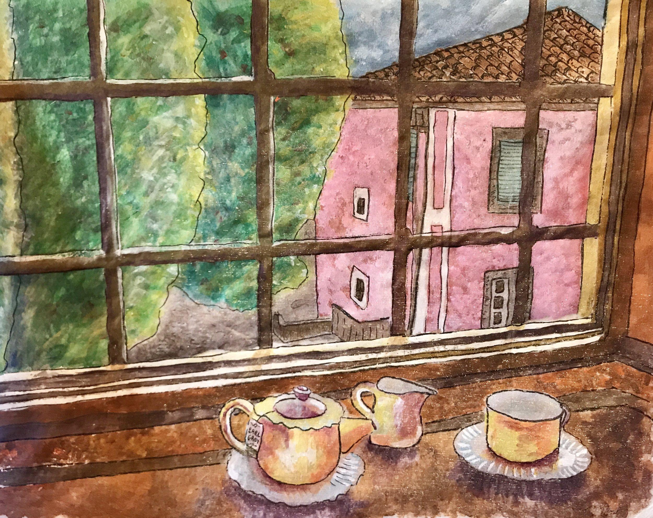 looking out the studio window:villa.jpg