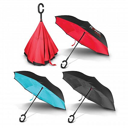Inverted Umbrellas