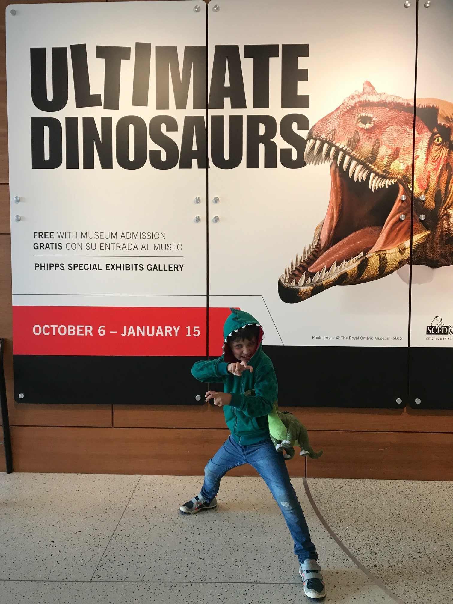 Ultimate Dinos at the Denver Museum of Nature & Science!