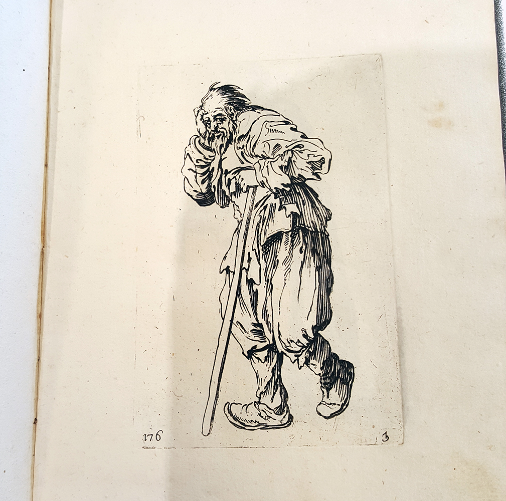 Jacques Callot (17th century),  Images of beggars ,   RISD Museum, 45.0.43