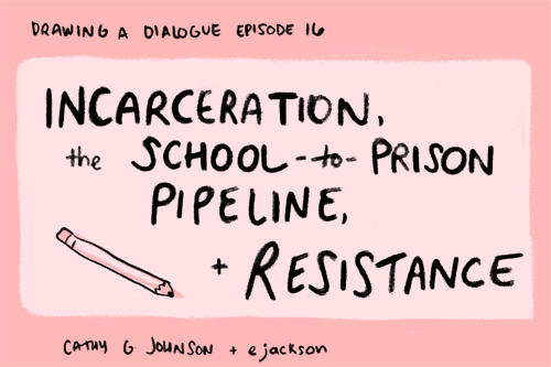 Drawing A Dialogue, Episode 16: Incarceration, The School-to
