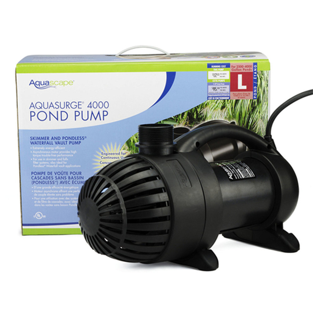 Aquascape Aquasurge 4000 Pump 14900lph Flo Gardens Natural Pools Waterfalls Ecosystem Ponds Landscaping Byron Bay