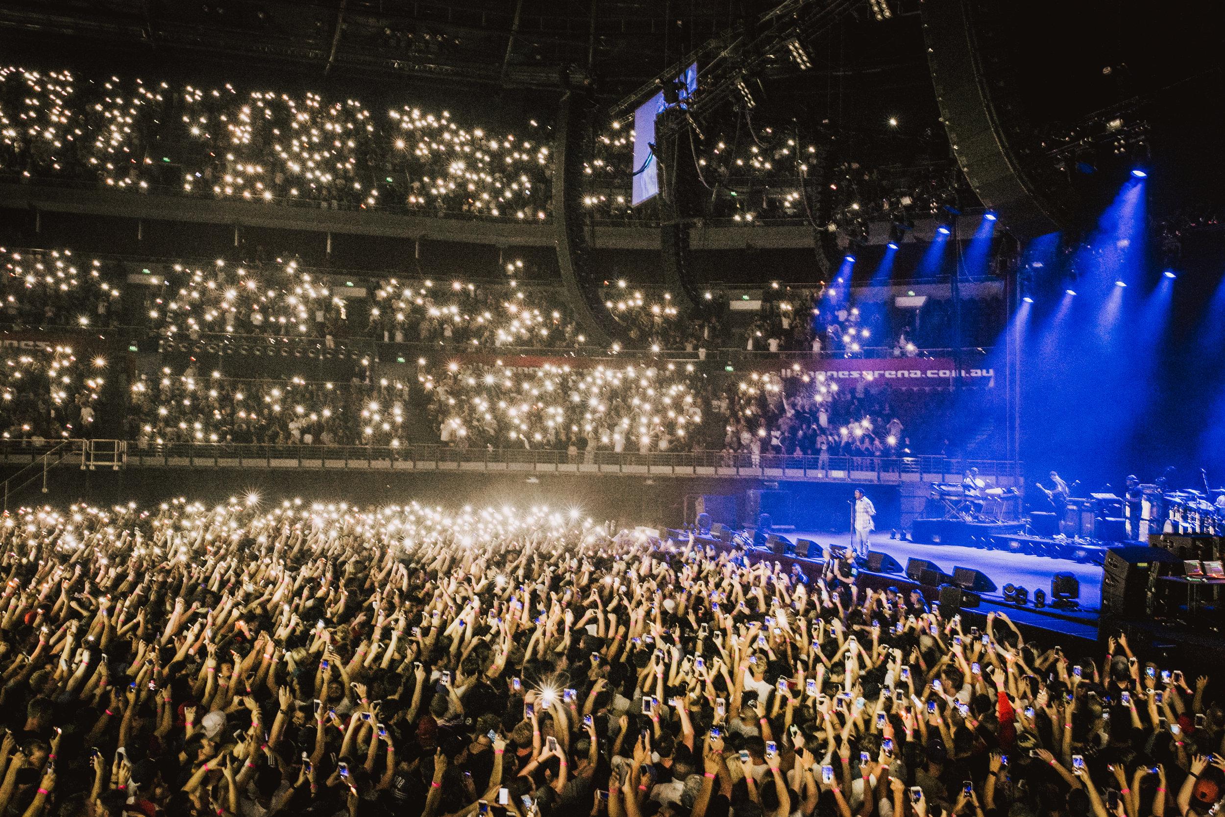 Kendrick Lamar All Phones Arena, Sydney 2016
