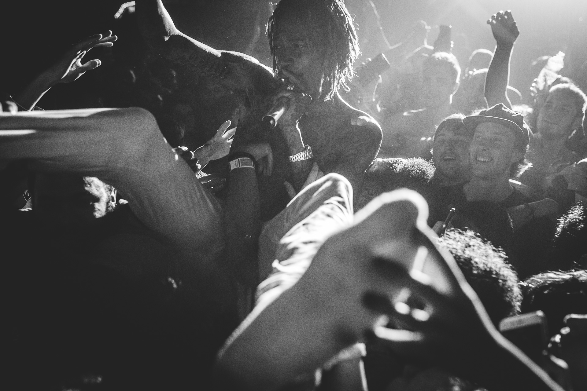 Wiz Khalifa Optus Rockcorps Sydney 2015