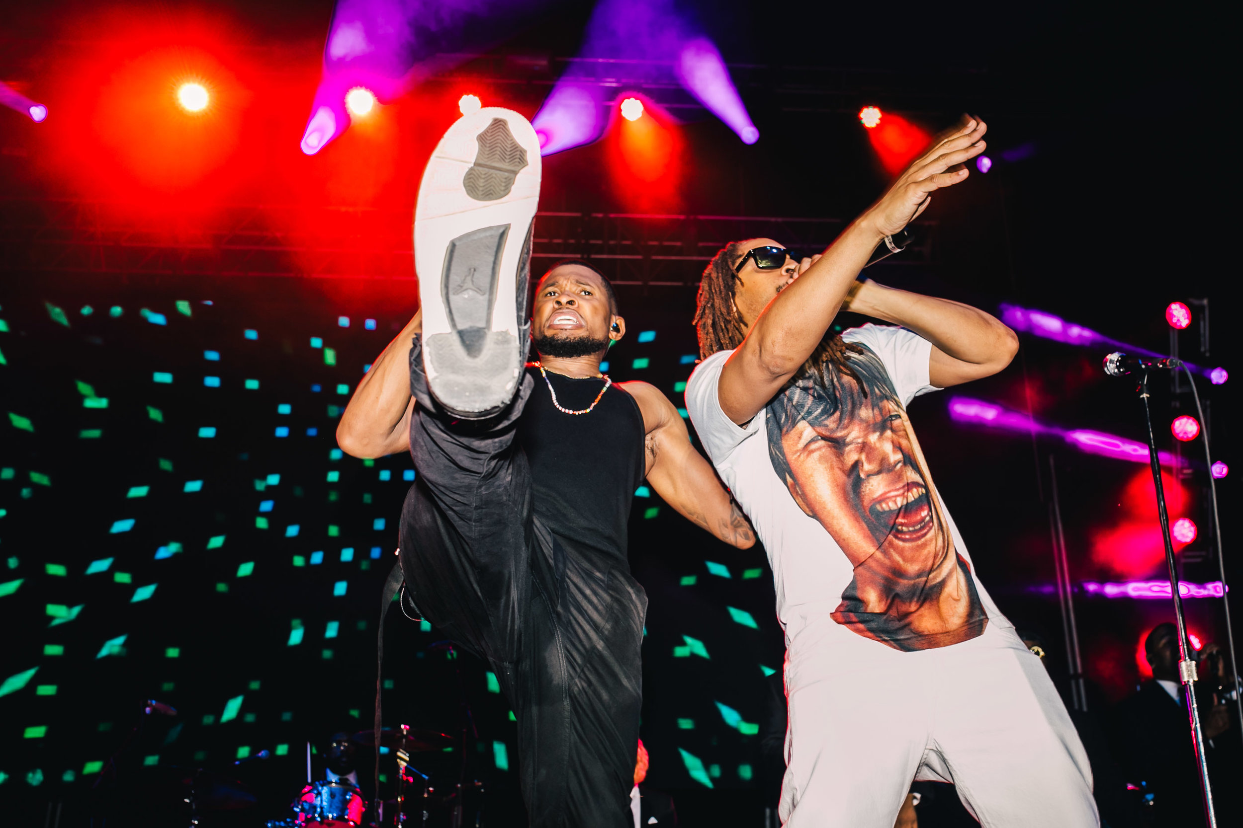 Usher + Lil Jon Roots Picnic, Philadelphia 2016
