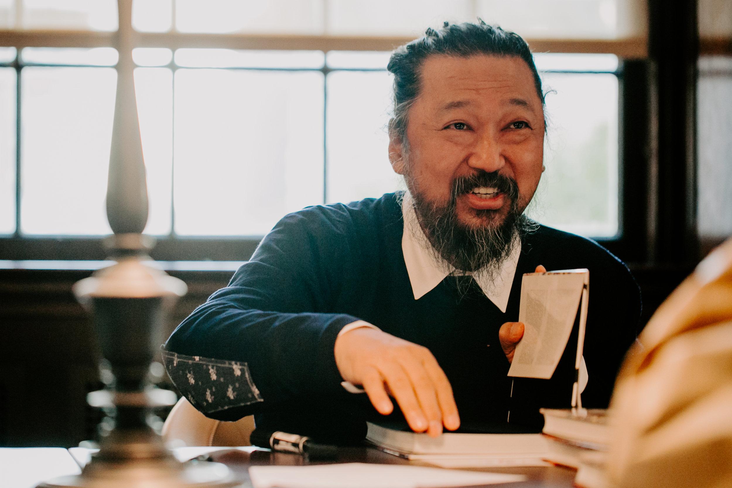 Takashi Murakami, Battle Royale! Book Launch, NYC 2017