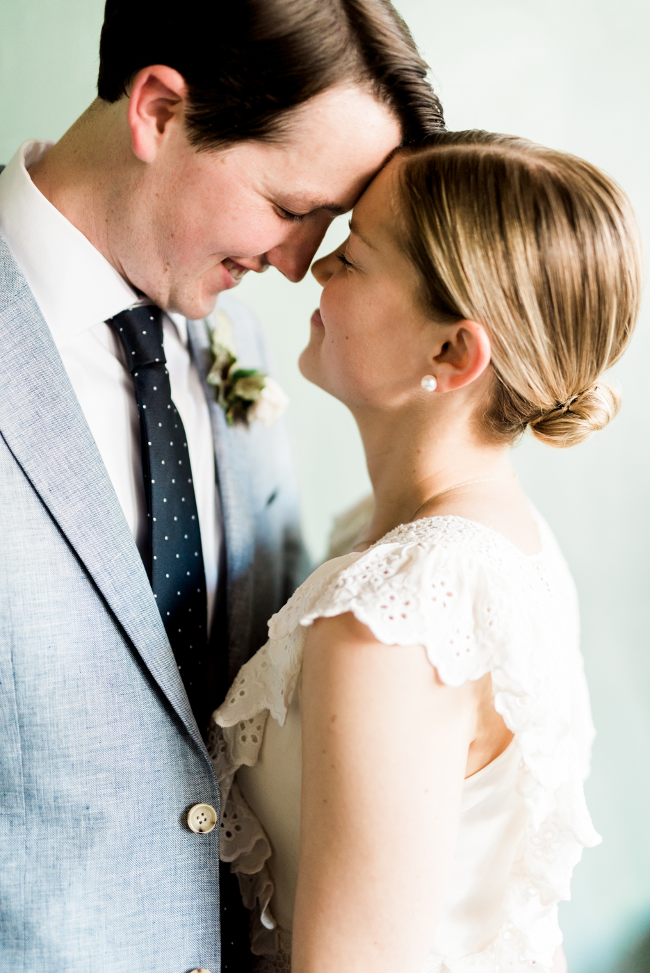 Intimate and sweet wedding at Loyal Nine in Cambridge, Massachusetts