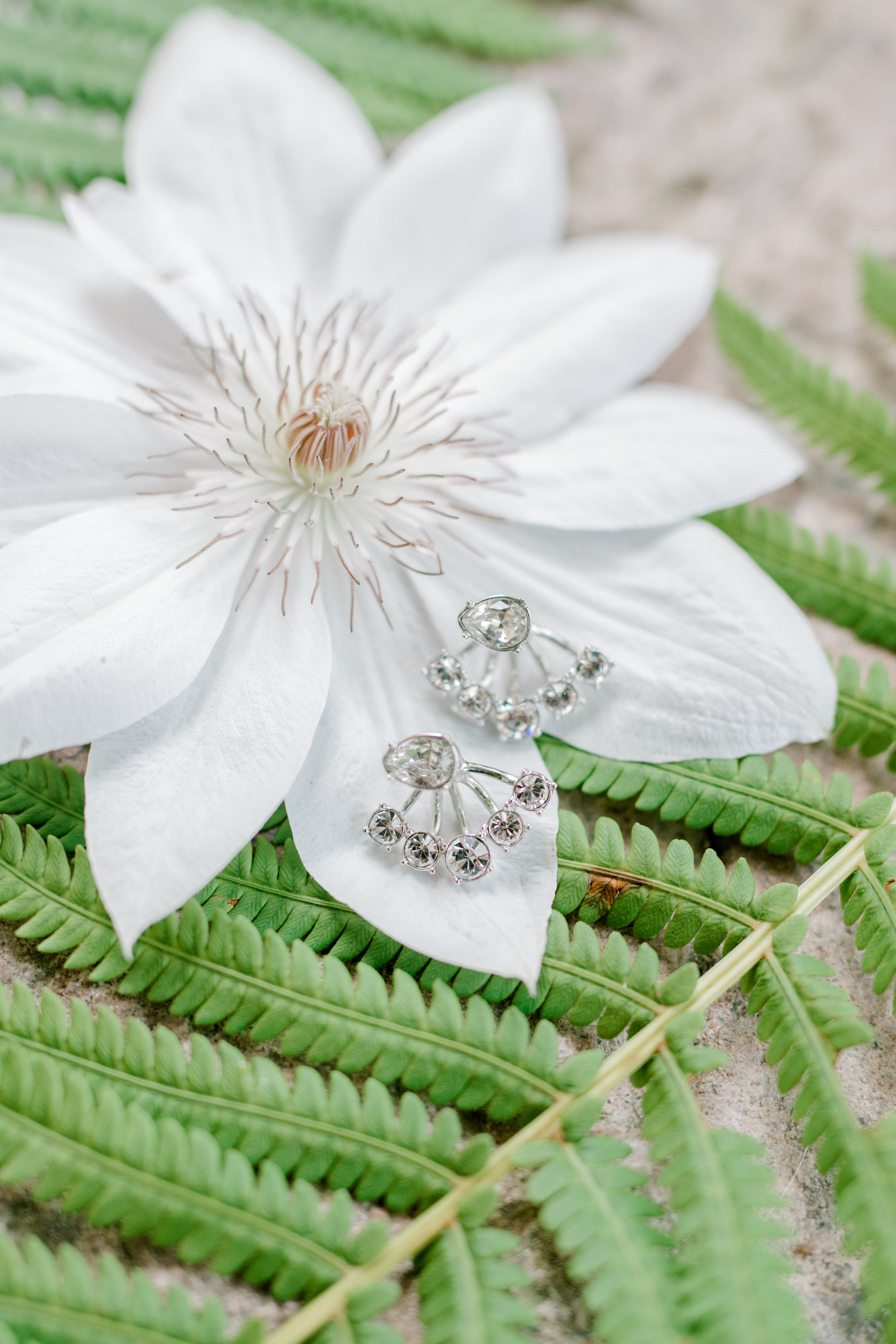 haley-richter-photography-summer-vineyard-wedding-givenchy-earrings-diamond-silver-floater-illusion-star-burst-jewelry