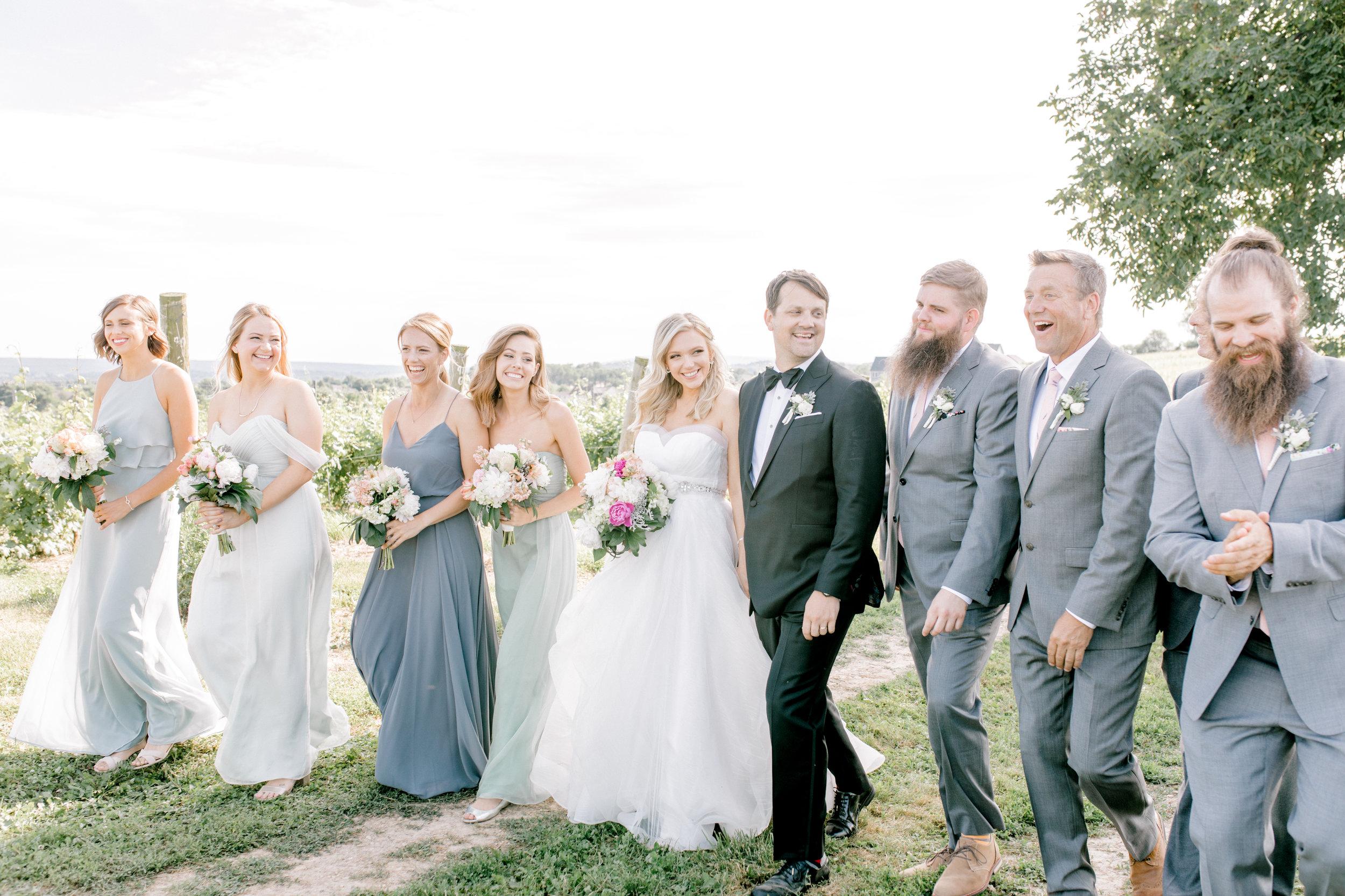 haley-richter-photography-summer-winery-vinyard-wedding-bridal-party-inspiration-gray-green-slate-bridesmaids-groomsmen-suits-dresses