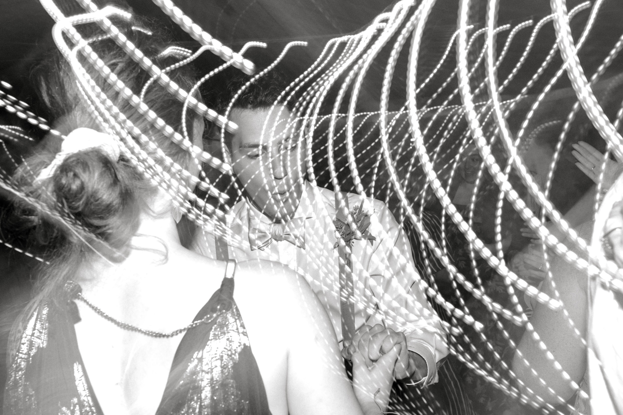 Crazy times as the guests dance the night away at this bright boho chic Tyler Gardens wedding in Bucks County