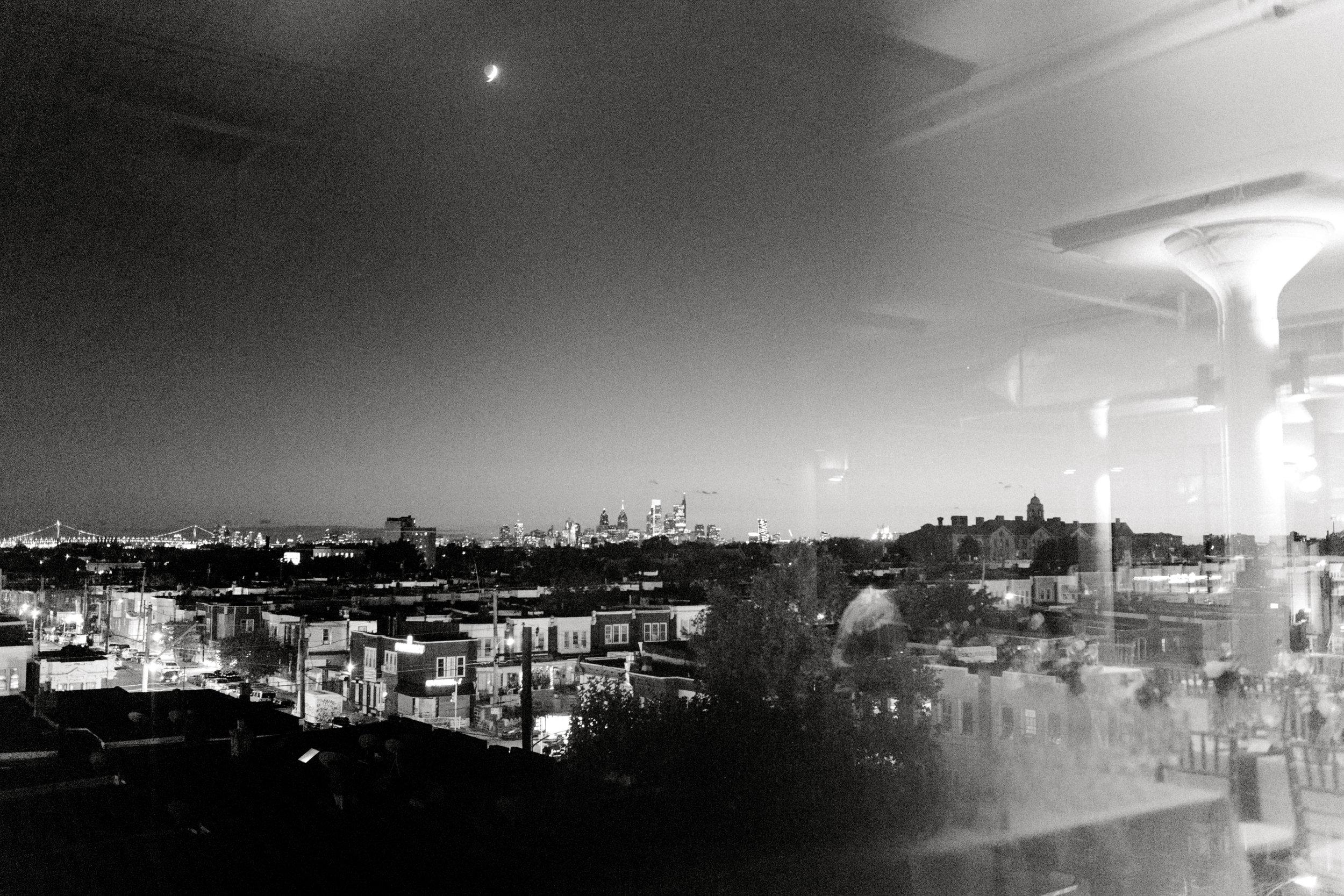FAME, Philadelphia venue with a skyline view