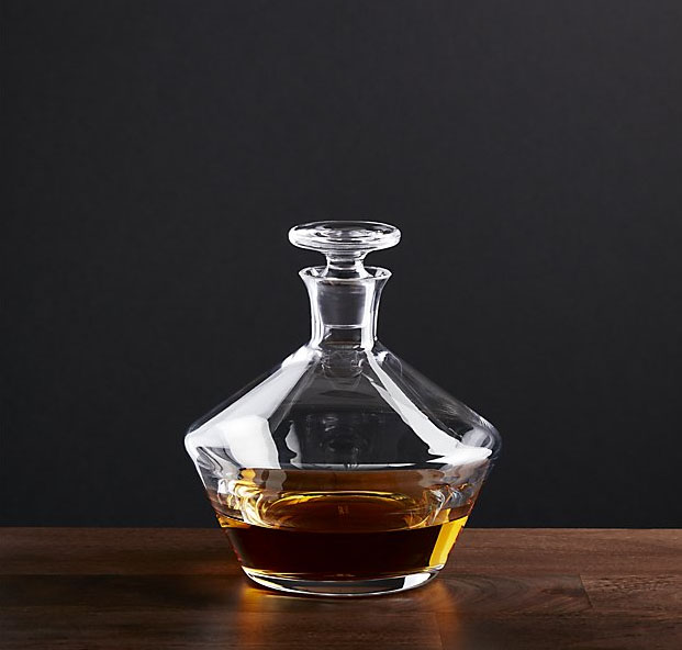 Crate&Barrel - Tour Decanter - $129.95
