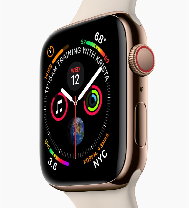 Apple - Apple Watch Series 4 - starting at $399