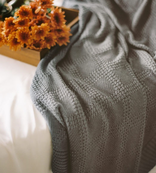 Cariloha - Bamboo Knit Throw - $99