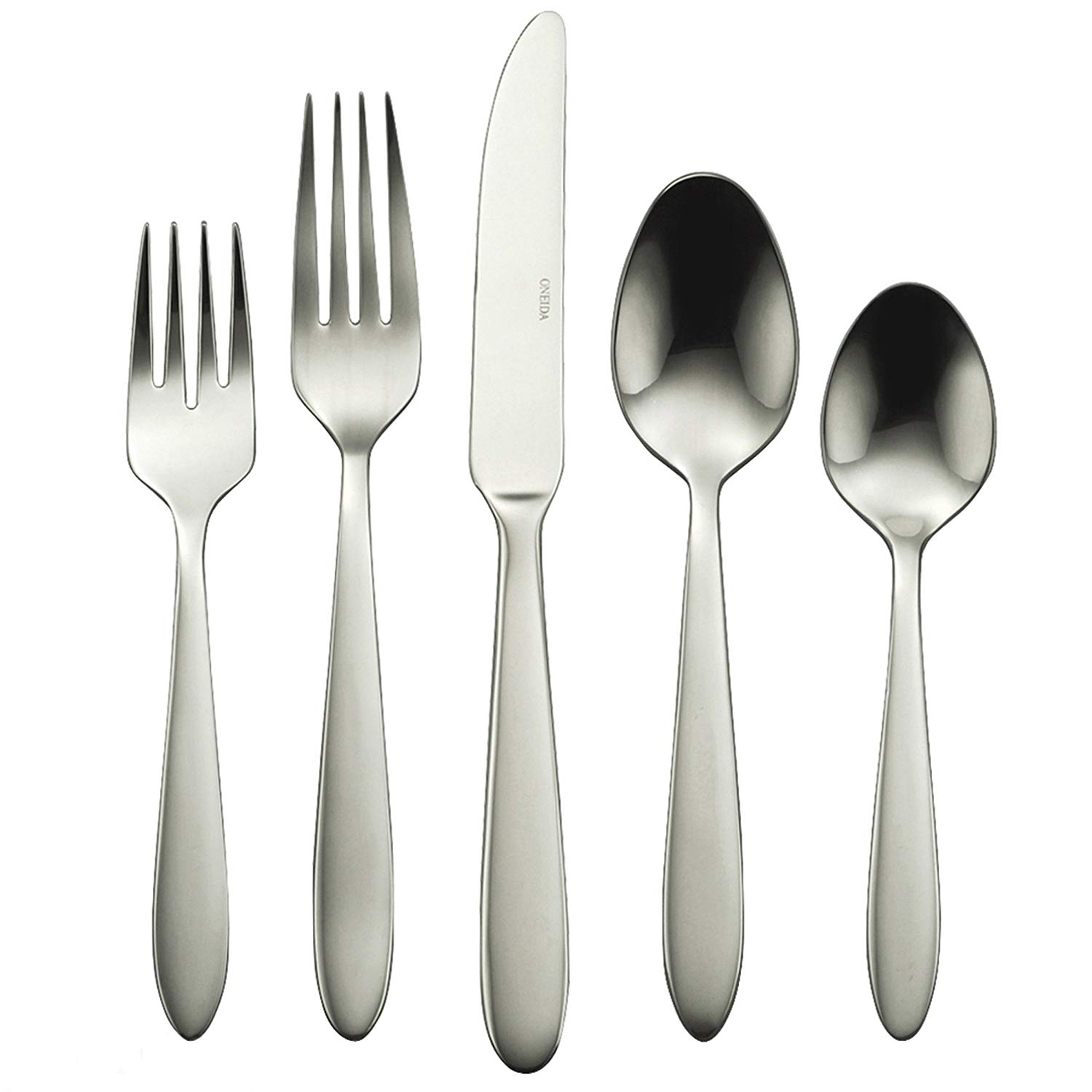 Oneida Mooncrest 65-Piece Flatware Set, Service for 12