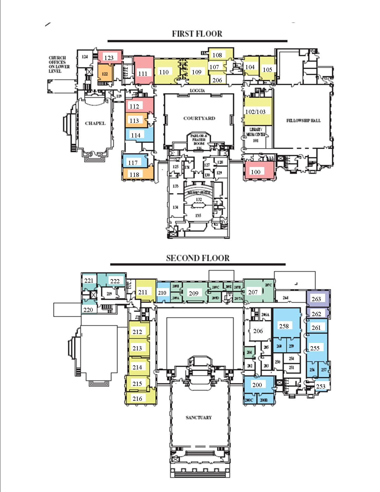 Church Maps — First Baptist Church