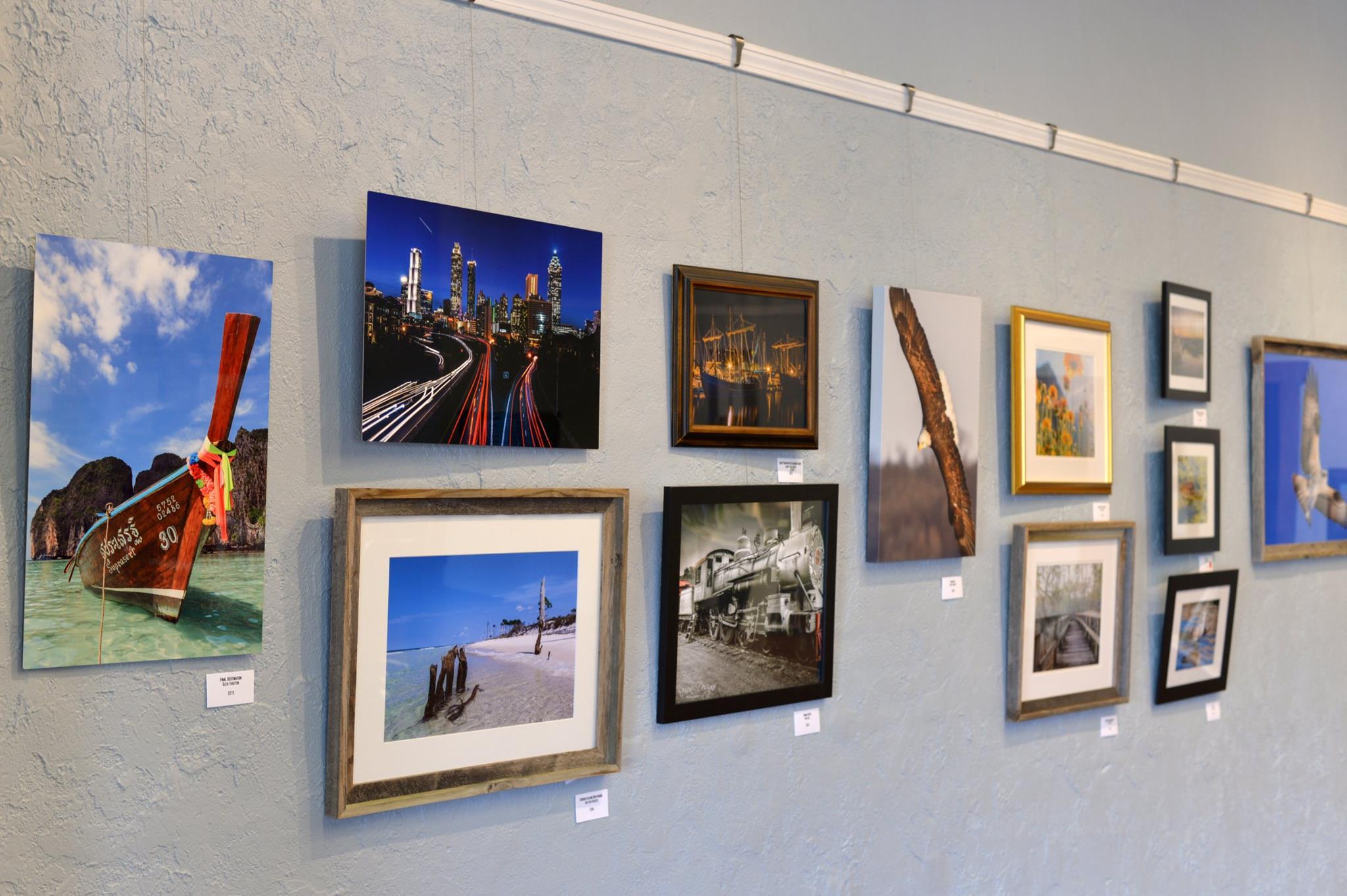 panama city photogrpahy club show blue wall.jpg
