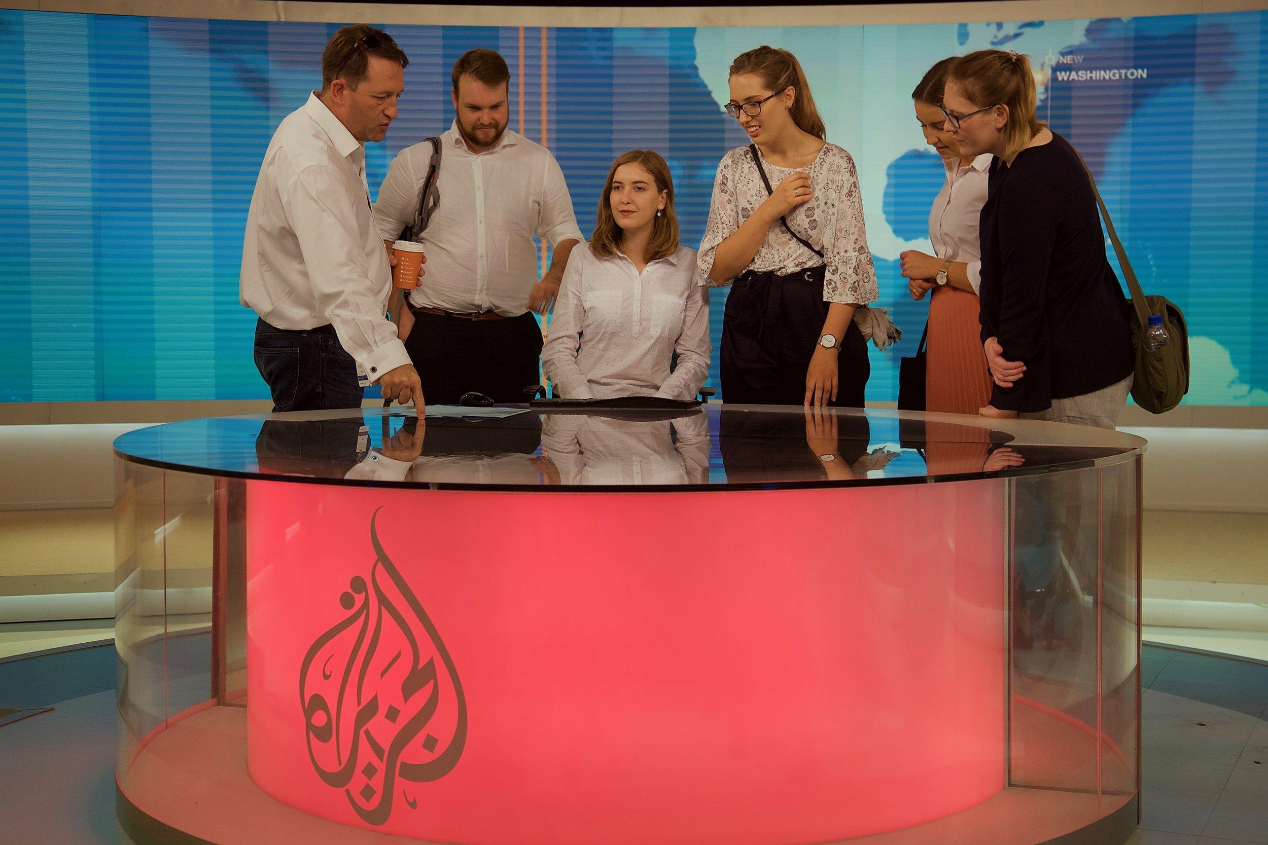 Al Jazeera English الجزيرة الإنكليزية