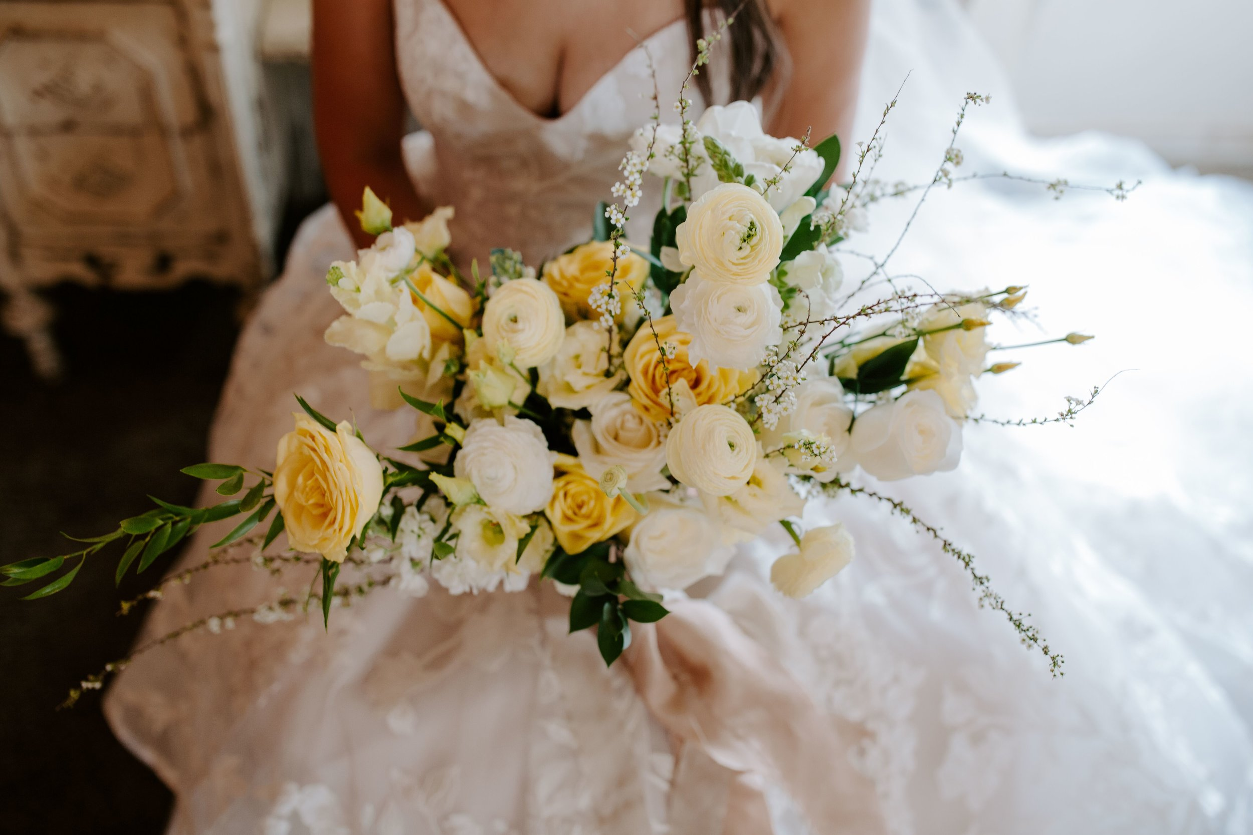 YellowWeddingBoquet