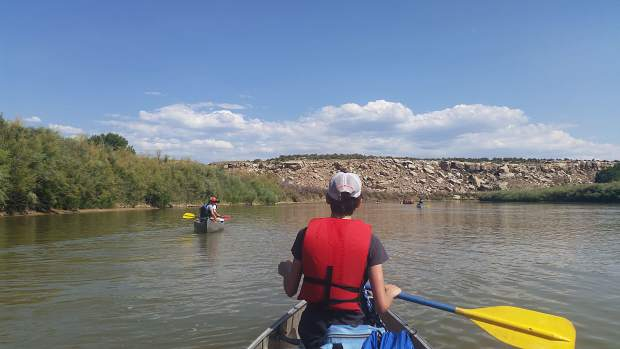 A look at one of The Peak School's outdoor education orientation trips, inviting students to canoe the Colorado River in the days leading up to the start of school.