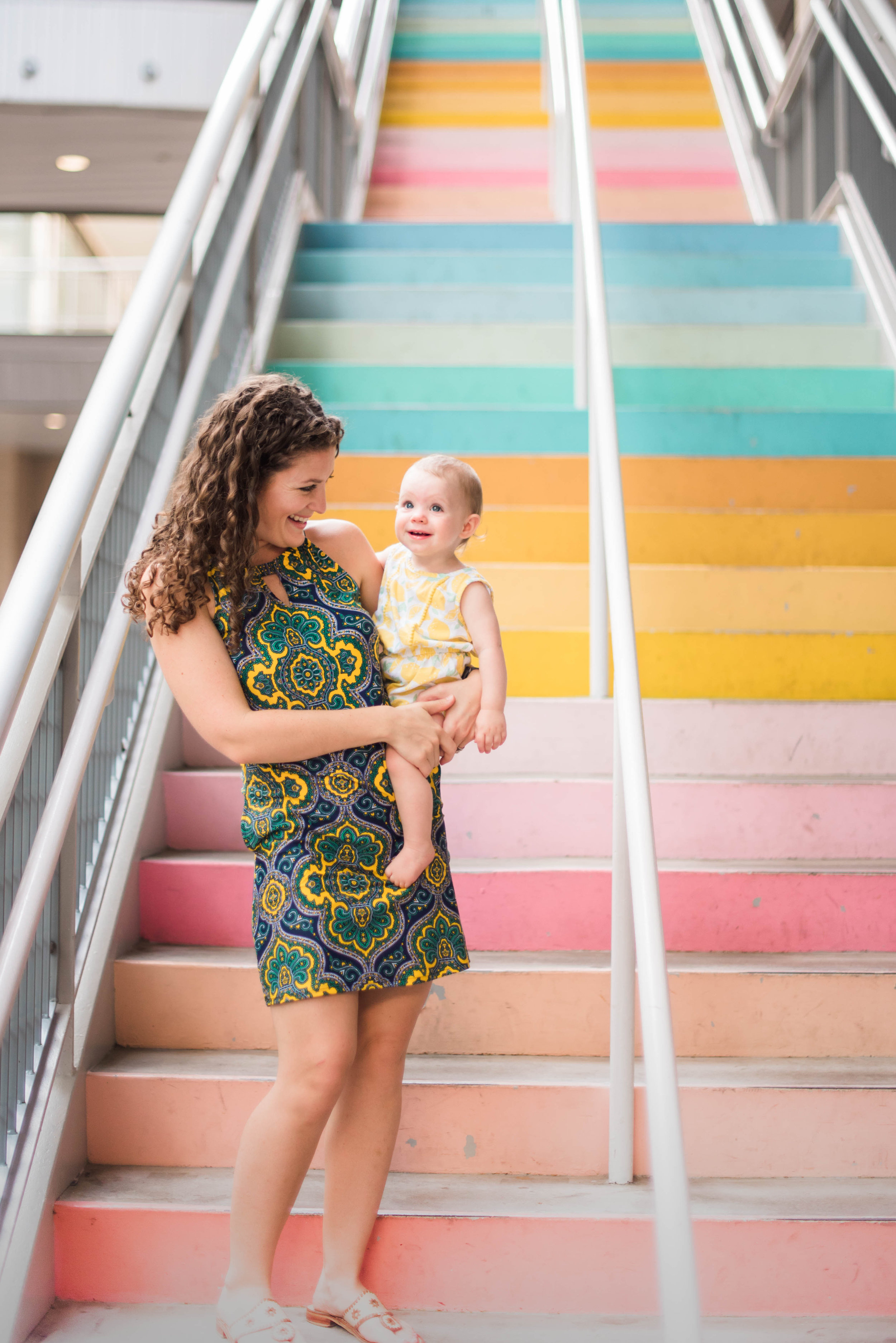 Charlotte and I at the Sugar Cloth Wall. Photo taken by SydneyArmesPhotography