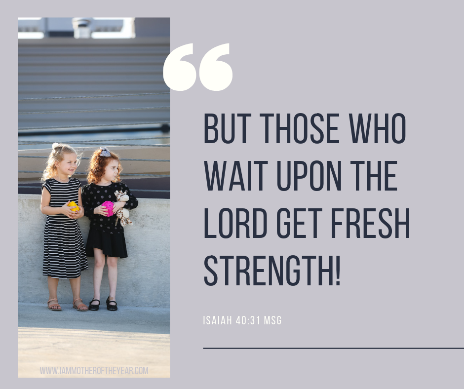 But those who wait upon the Lord get fresh strength!.png