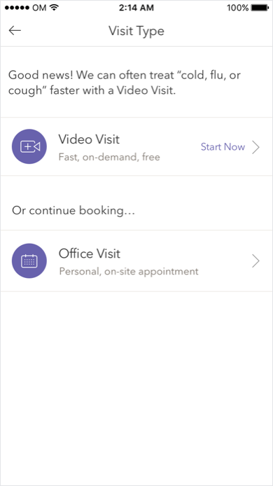 INTEGRATED CARE CHANNELS IN BOOKING EXPERIENCE