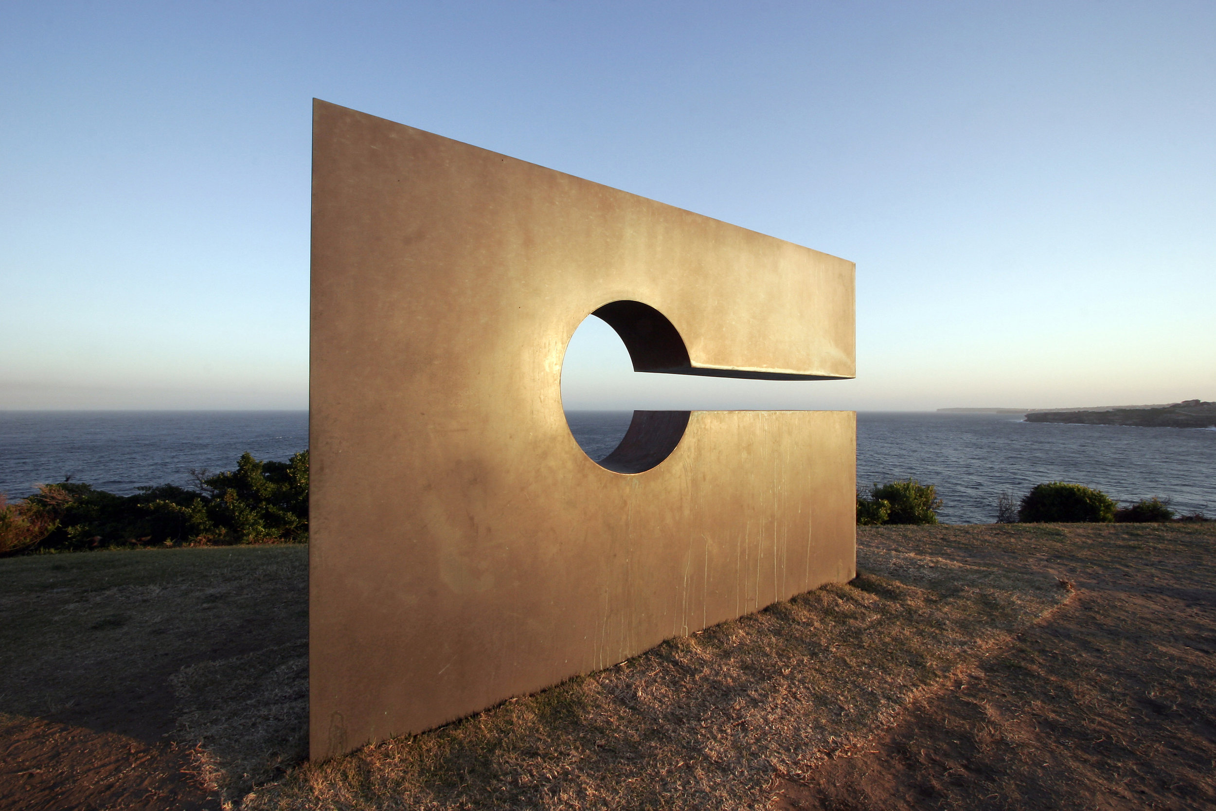 She thought , Mark McClelland, Sculpture Prize, Sculpture by the Sea, Sydney 2008