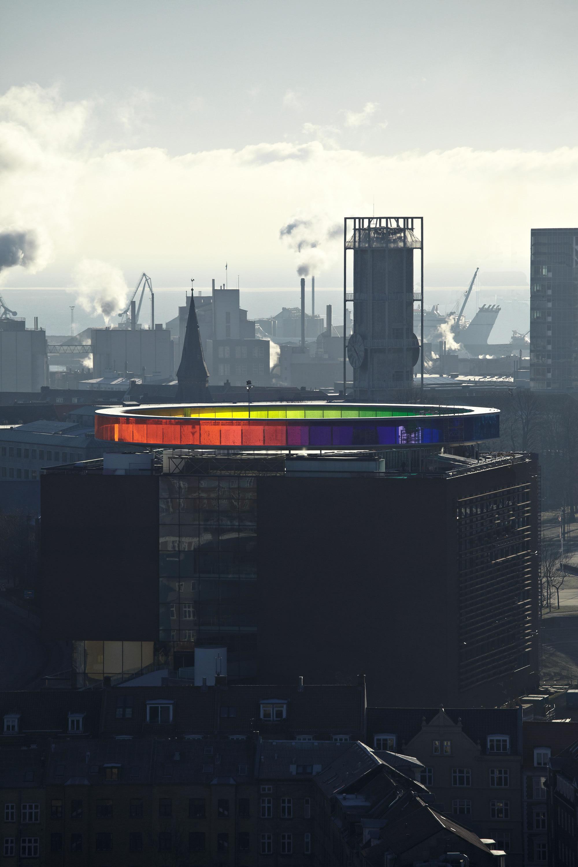 Your Rainbow Panorama , Olafur Eliasson, Aarhus