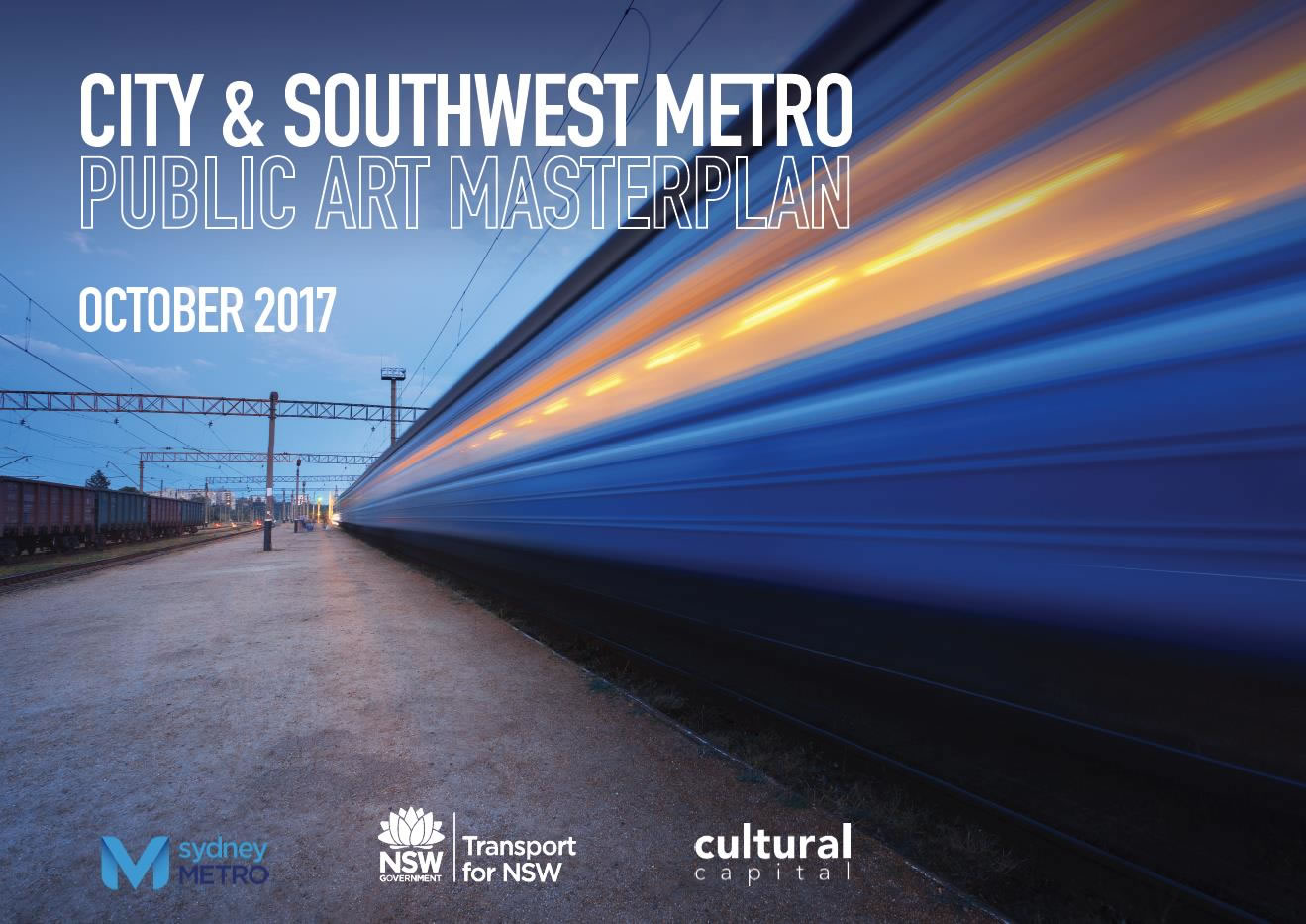 Sydney Metro City and Southwest.  Public Art Masterplan