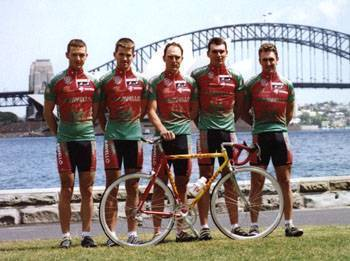Bart headlines the Caravello team for the 1998 Commonwealth Bank Classic