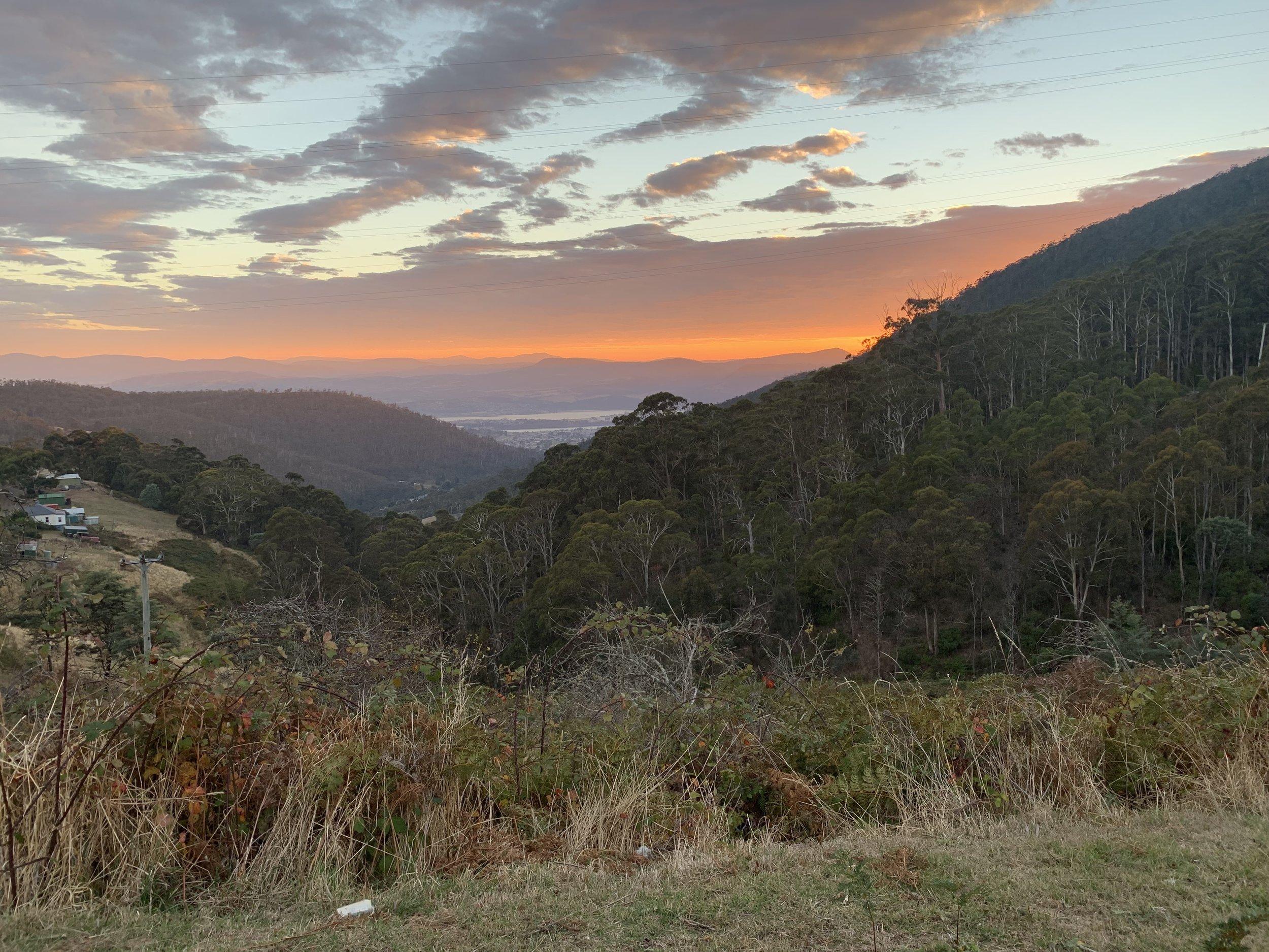 The climbs of Southern Tasmania, Australia.