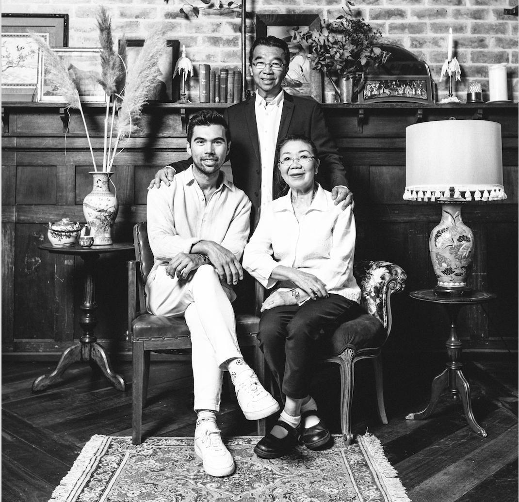 From left: Aaron, One & Phanh Ratanatray
