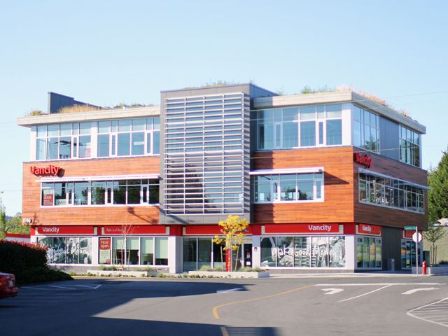 The Paragon  Office and Retail Building Saanich, BC 2014