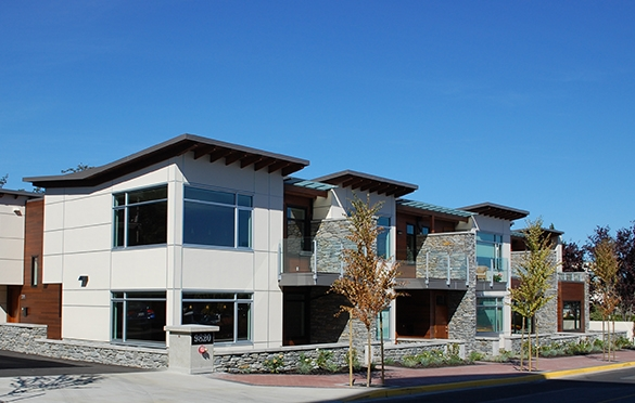 The Residences at Seaport West  Condos and Townhomes Sidney, BC 2012