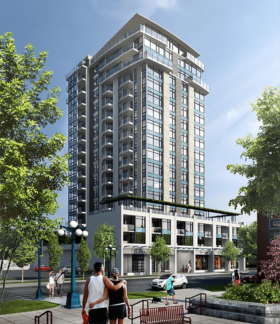 The Legato  Residences and Retail Victoria, BC 2016
