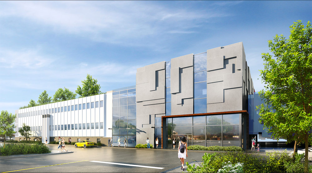 Victoria Press Building Commercial - Design  Victoria, BC