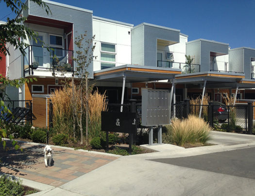 The Railyards - Harbour HomeII  Townhomes Victoria, BC 2014