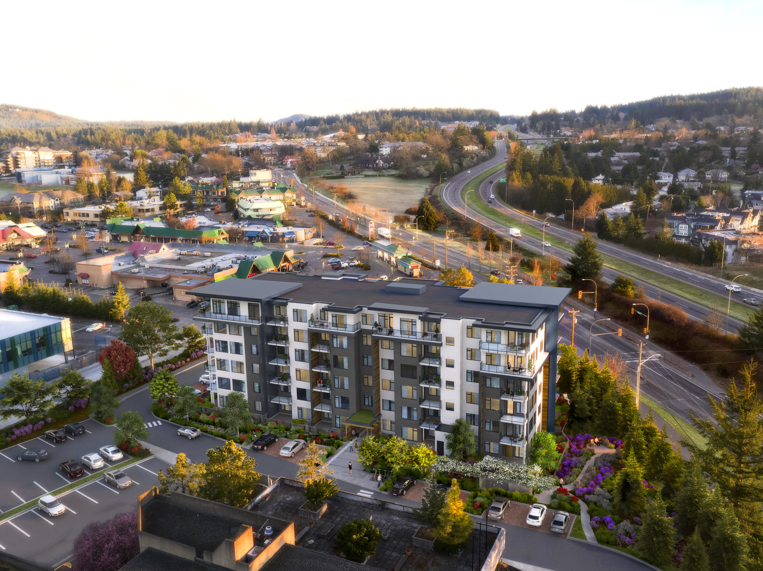 The Radius  Residences Victoria, BC 2016
