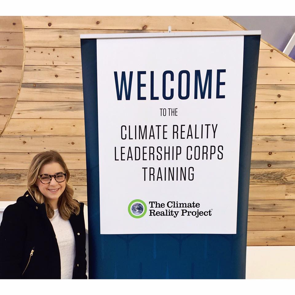 Day one at the Climate Reality Leadership Corps Training in Denver, Colorado March 2017