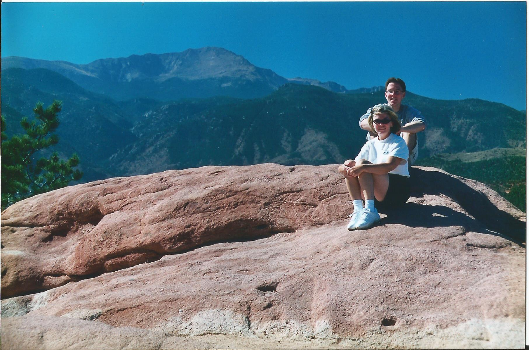 Nick and his mom Colorado Springs, CO when he first moved there in 2003.