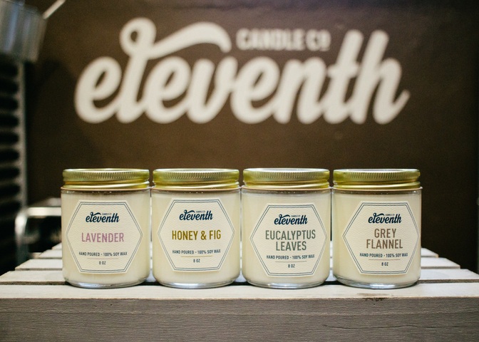 All images provided by Amber Runyon and Eleventh Candle Co.