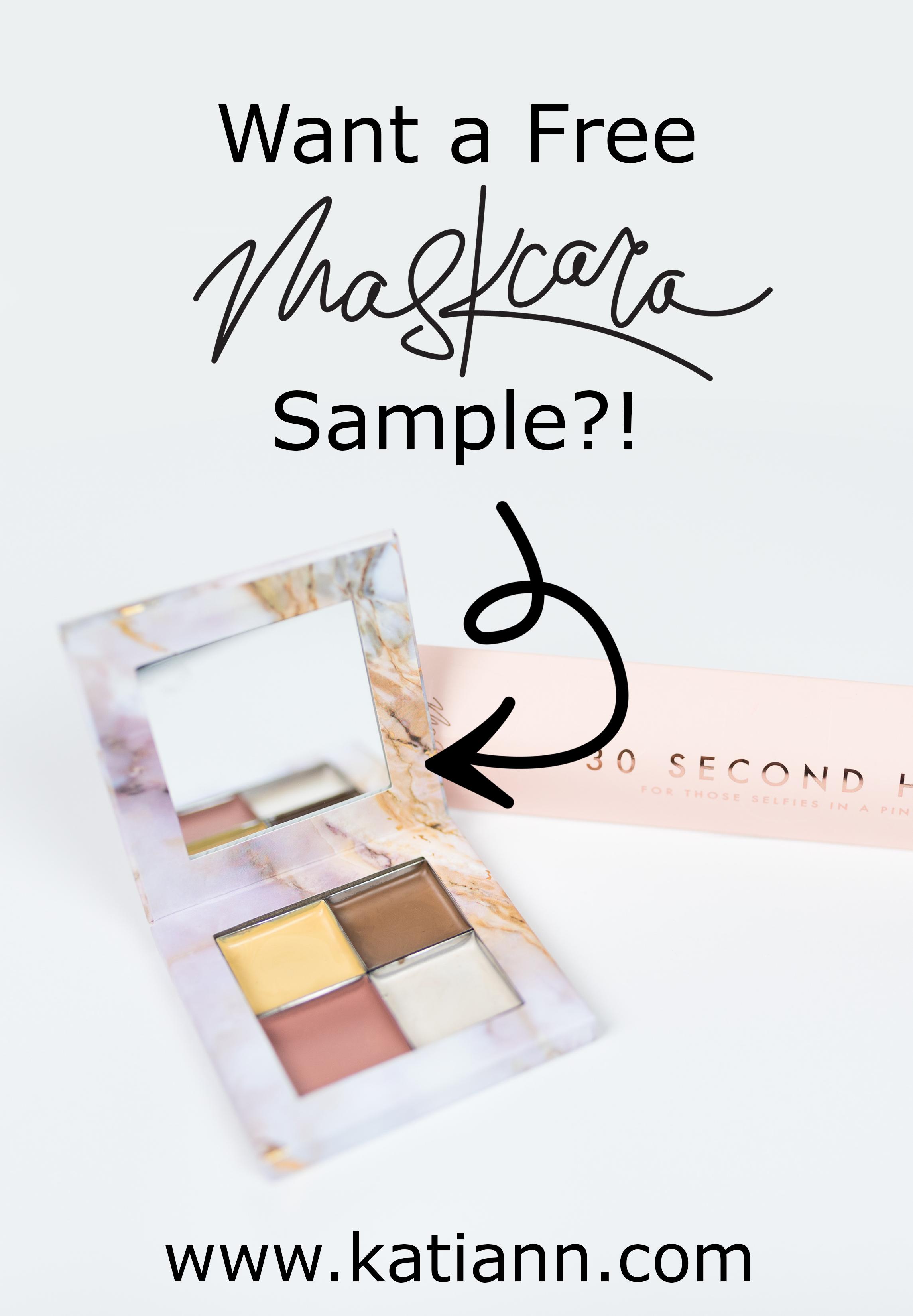 maskcara sample