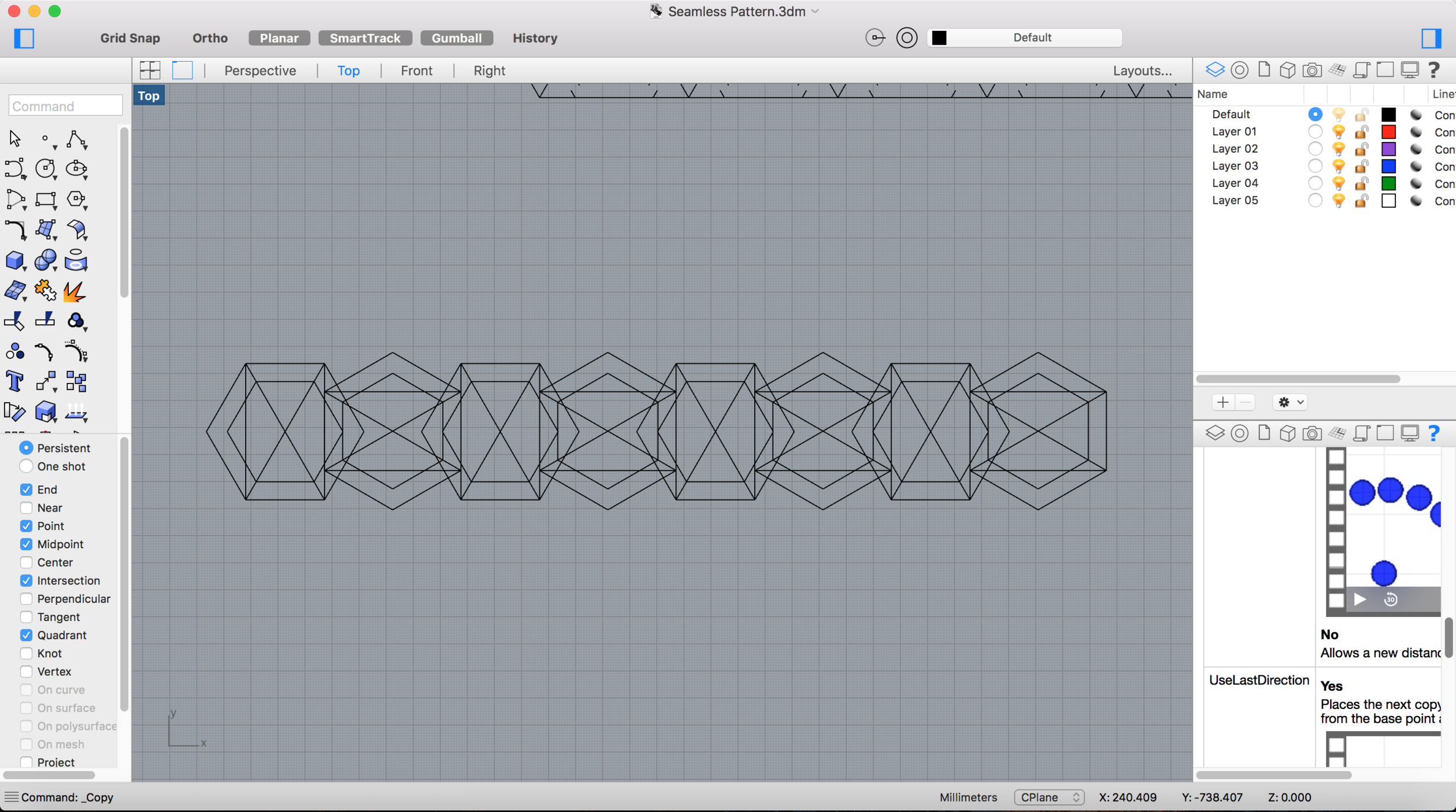 Here is where I played with the pattern interlock design.