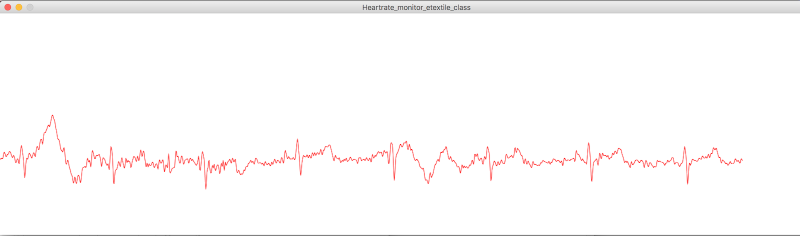 Here is the dynamic graph which is visualized on Processing. It's my heart!