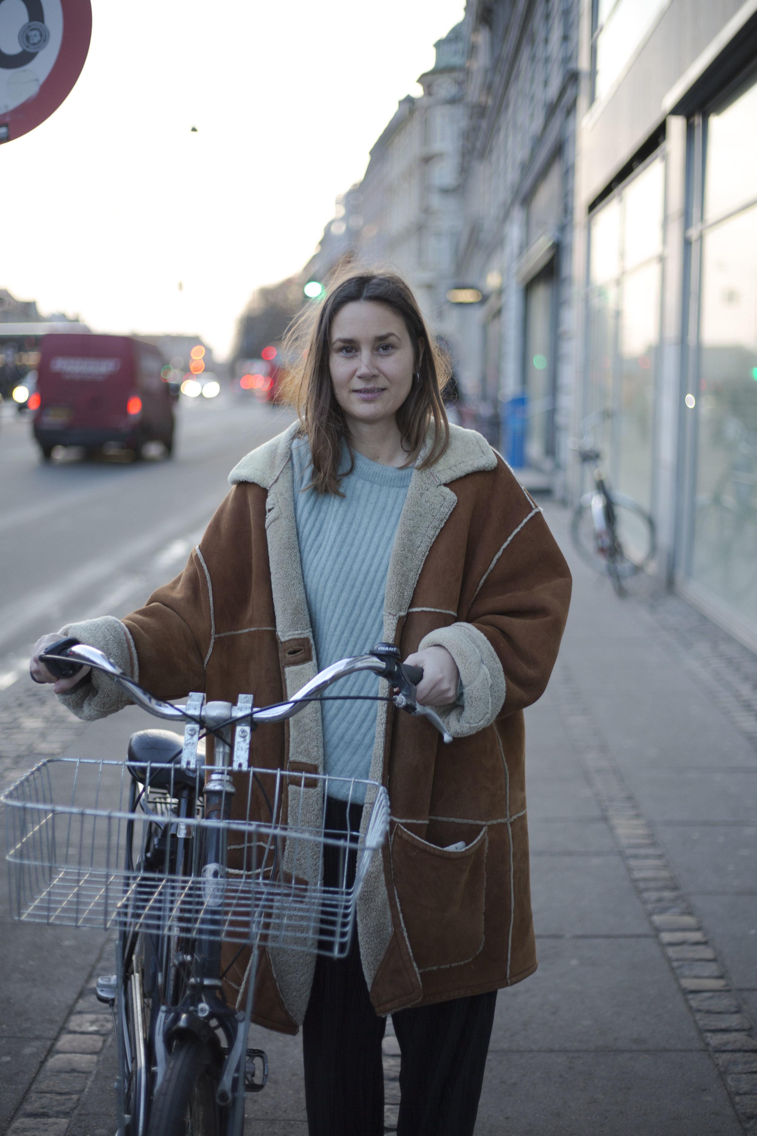 Copenhagen bicycle city with style