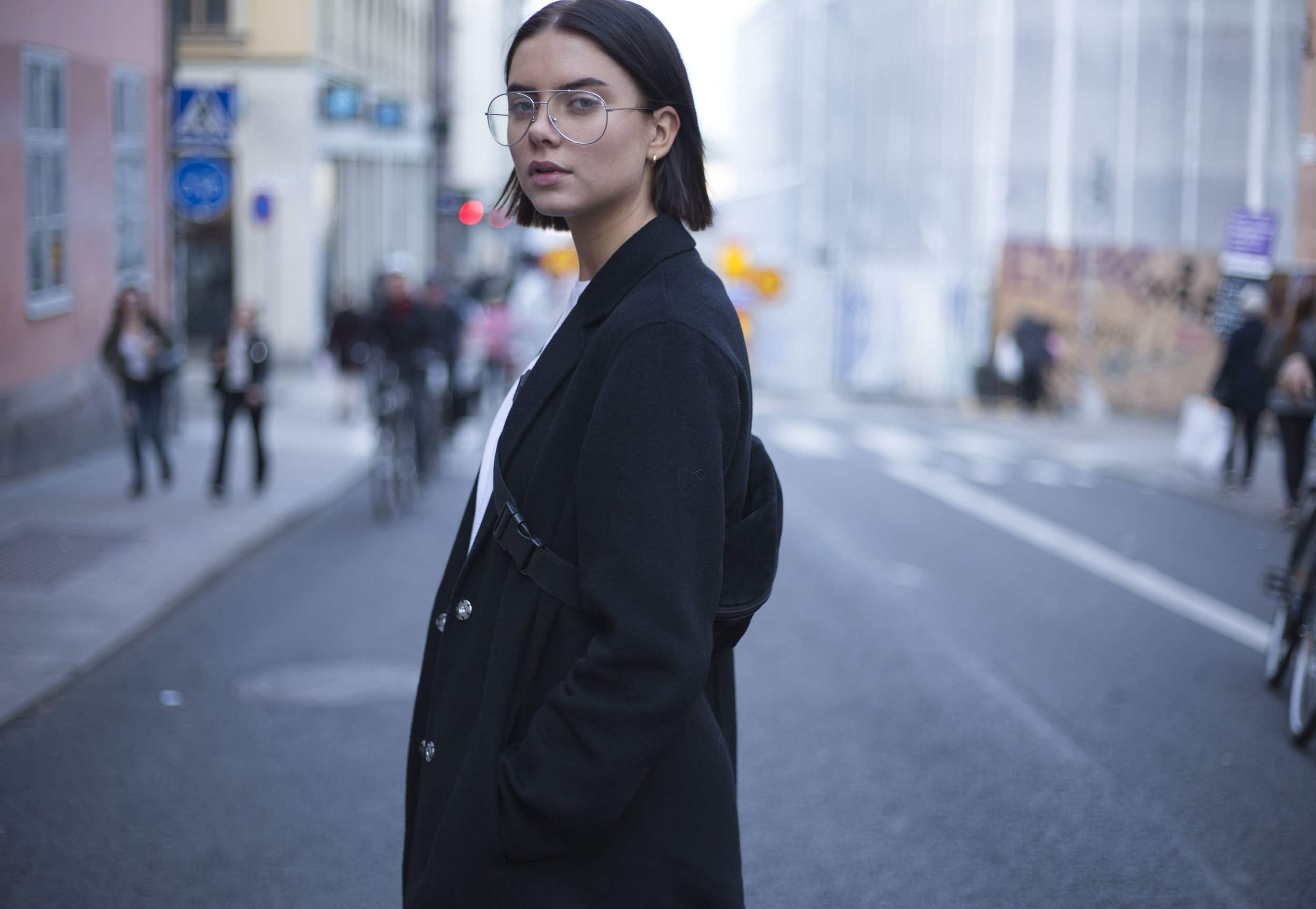 Stunning streetstyle on the streets of Stockholm