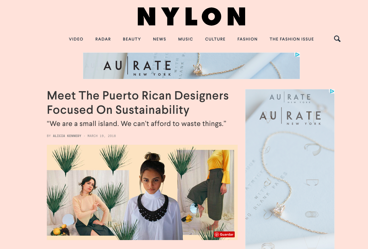 Copy of Nylon: Puerto Rican Designers